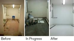 Advantis Credit Union helped Portland Rescue Mission renovate shower facilities to serve more homeless guests.